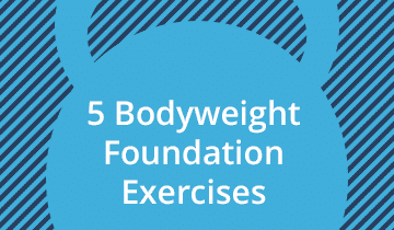 5 Bodyweight Exercises for Beginners