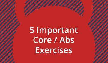 5 Bodyweight Core Exercises