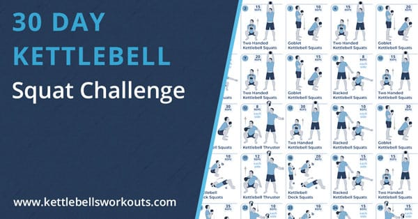 kettlebell squat challenge