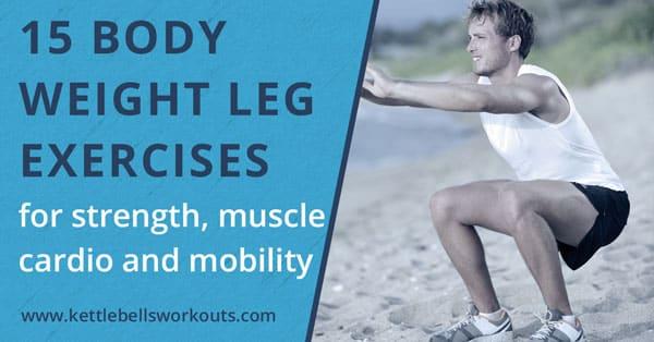 15 bodyweight leg exercises blog