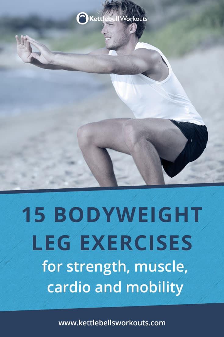 15 bodyweight leg exercises