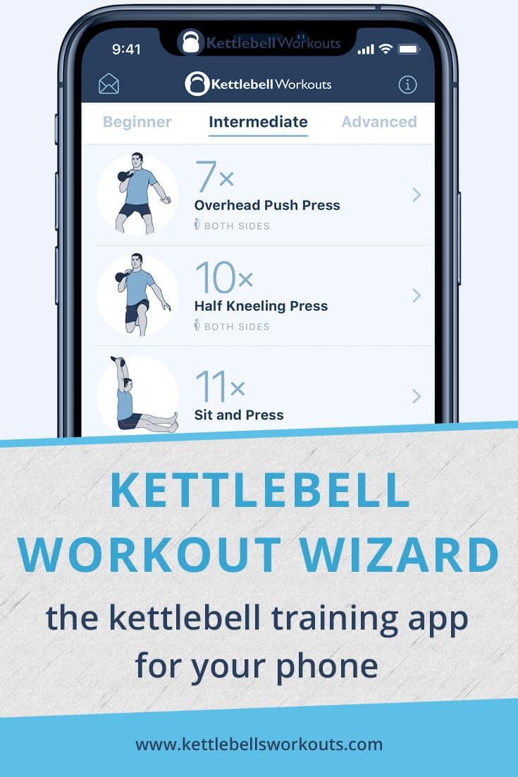 kettlebell workout wizard app