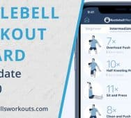 New Kettlebell App - Kettlebell Workout Wizard for iPhone and Android (2020 Update)