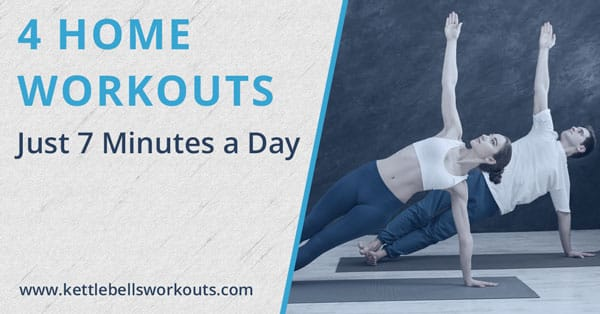Home Workouts in 7 Minutes a Day
