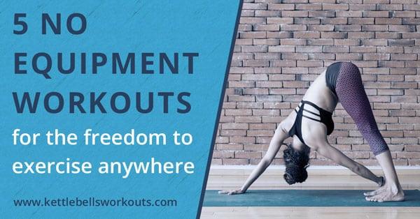 5 no equipment workouts